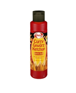339hot Hela Curry Gewürz Ketchup extra hot 400 ml